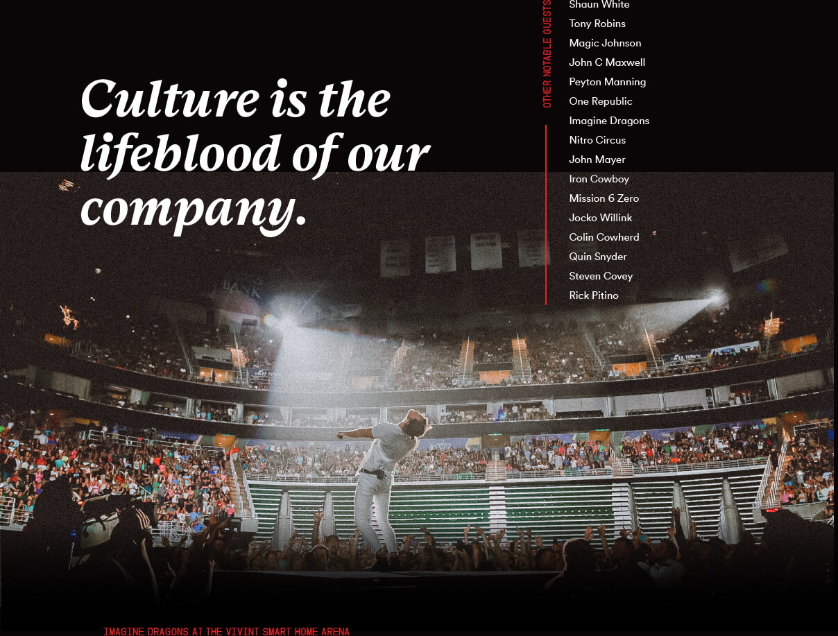 Culture is the lifeblood of our company.