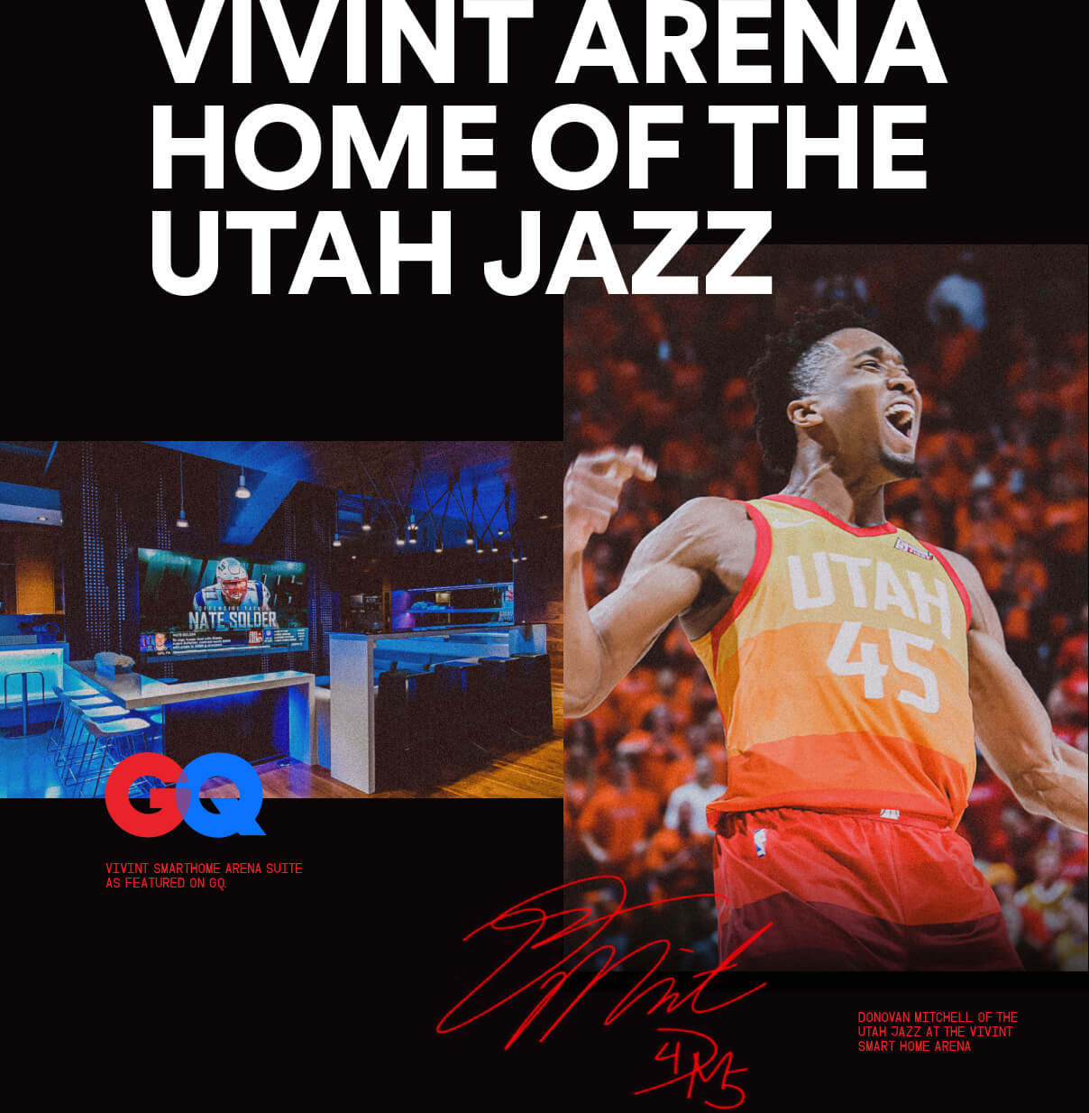Vivint Arena Home of the Utah Jazz